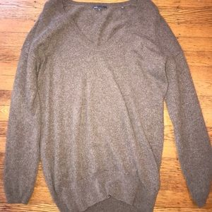 Vince Light Brown Cashmere Sweater